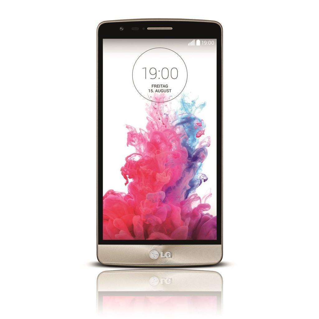 LG G3 16GB - Gold - Ohne Vertrag
