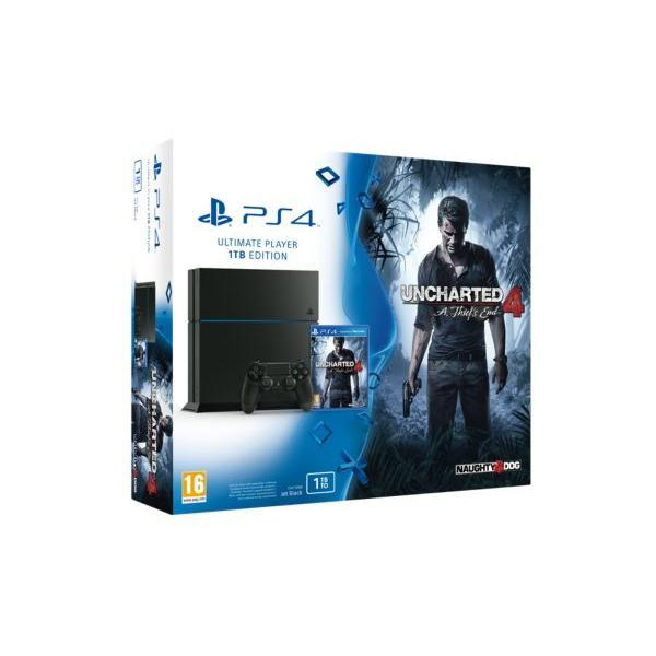 Pack - SONY PS4 1To + Uncharted 4