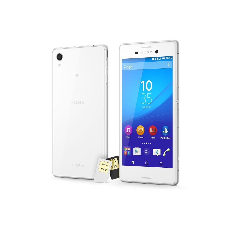 Sony Xperia M4 Aqua Dual 16 Go - Blanc - Débloqué