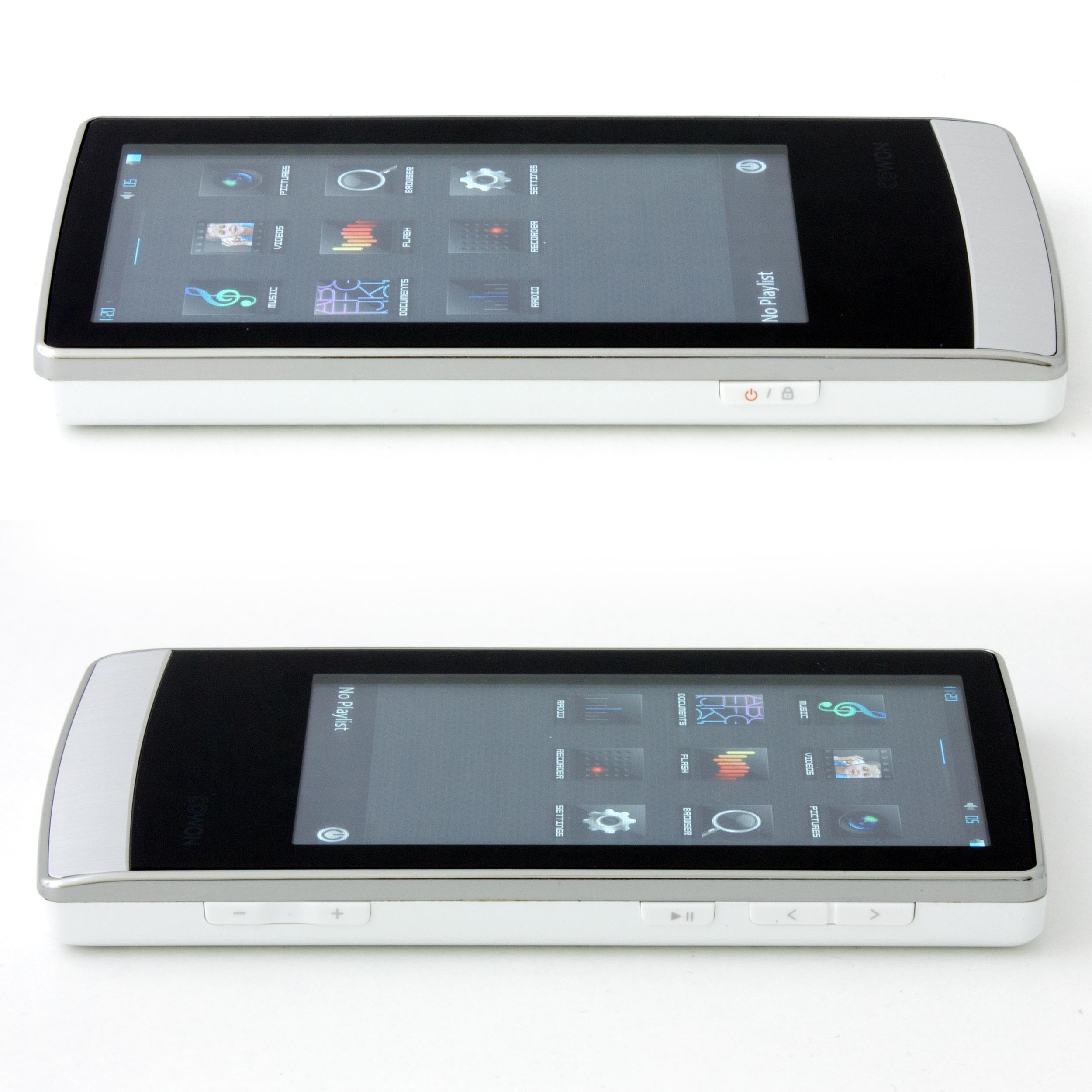 """Lecteur MP3/MP4 écran tactile 3,3"""" - 16Go extensible - Cowon J3 - Blanc"""