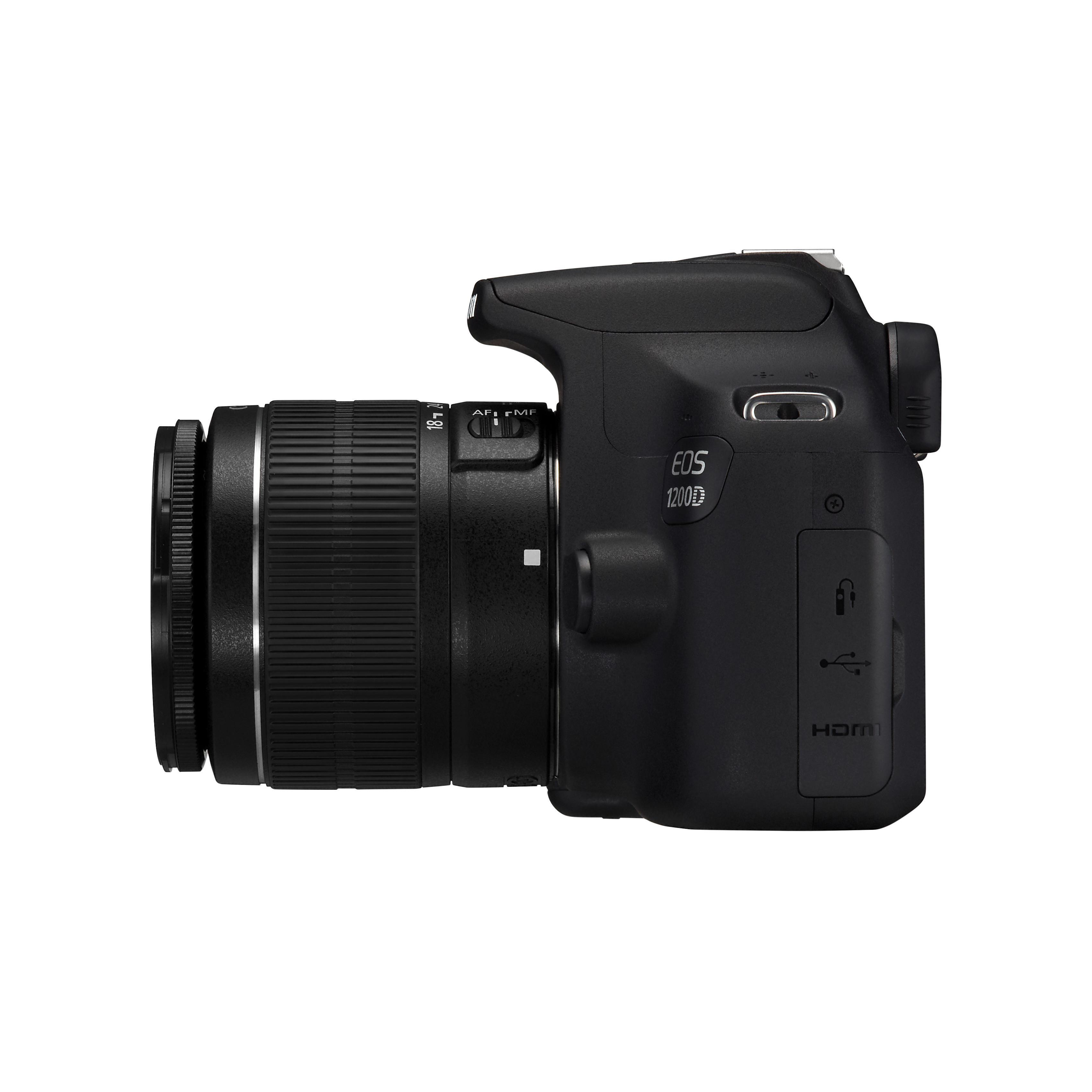Reflex - Canon EOS 1200D + Objectif EF-S 18-55 III