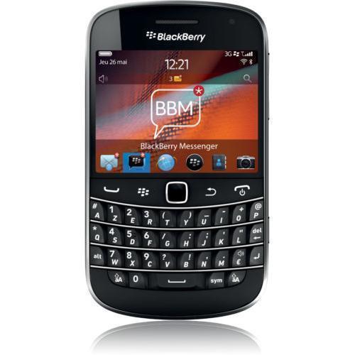 Blackberry Bold 9900 - Schwarz - Ohne Vertrag