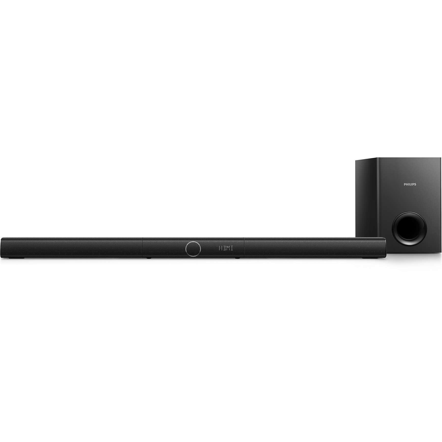 Barre de son Bluetooth + caisson de basses Philips HTL2183B/12