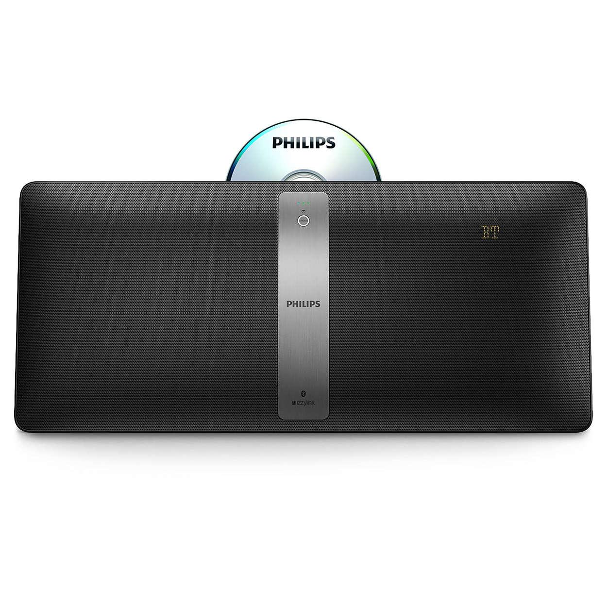 Enceinte CD + MP3 + Bluetooth multiroom Philips BM50B/10