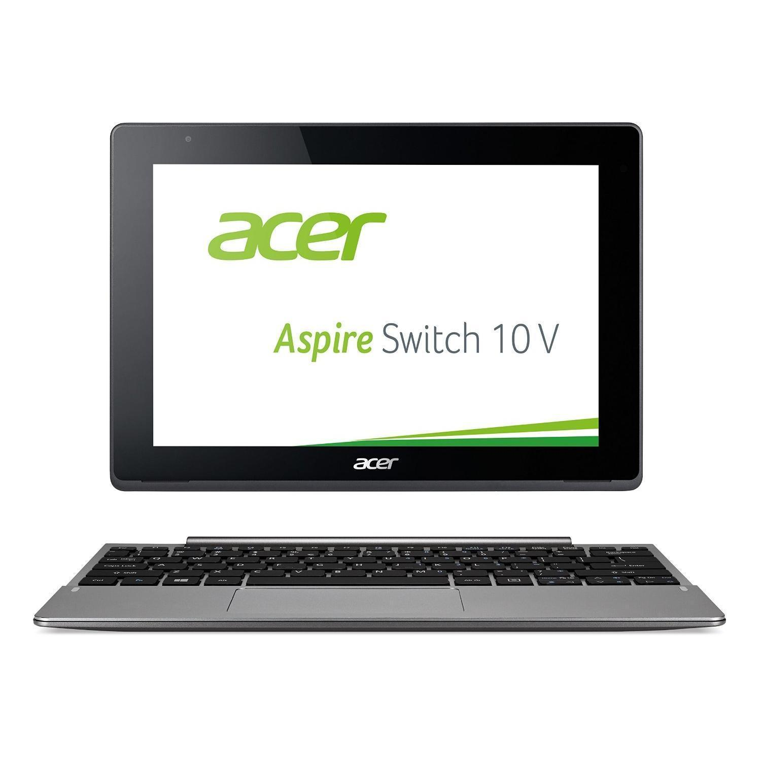 "Acer Aspire Switch 10 V 10,1"" Atom x5-Z8300  GHz  - HDD 32 Go - RAM 2 Go - QWERTZ"