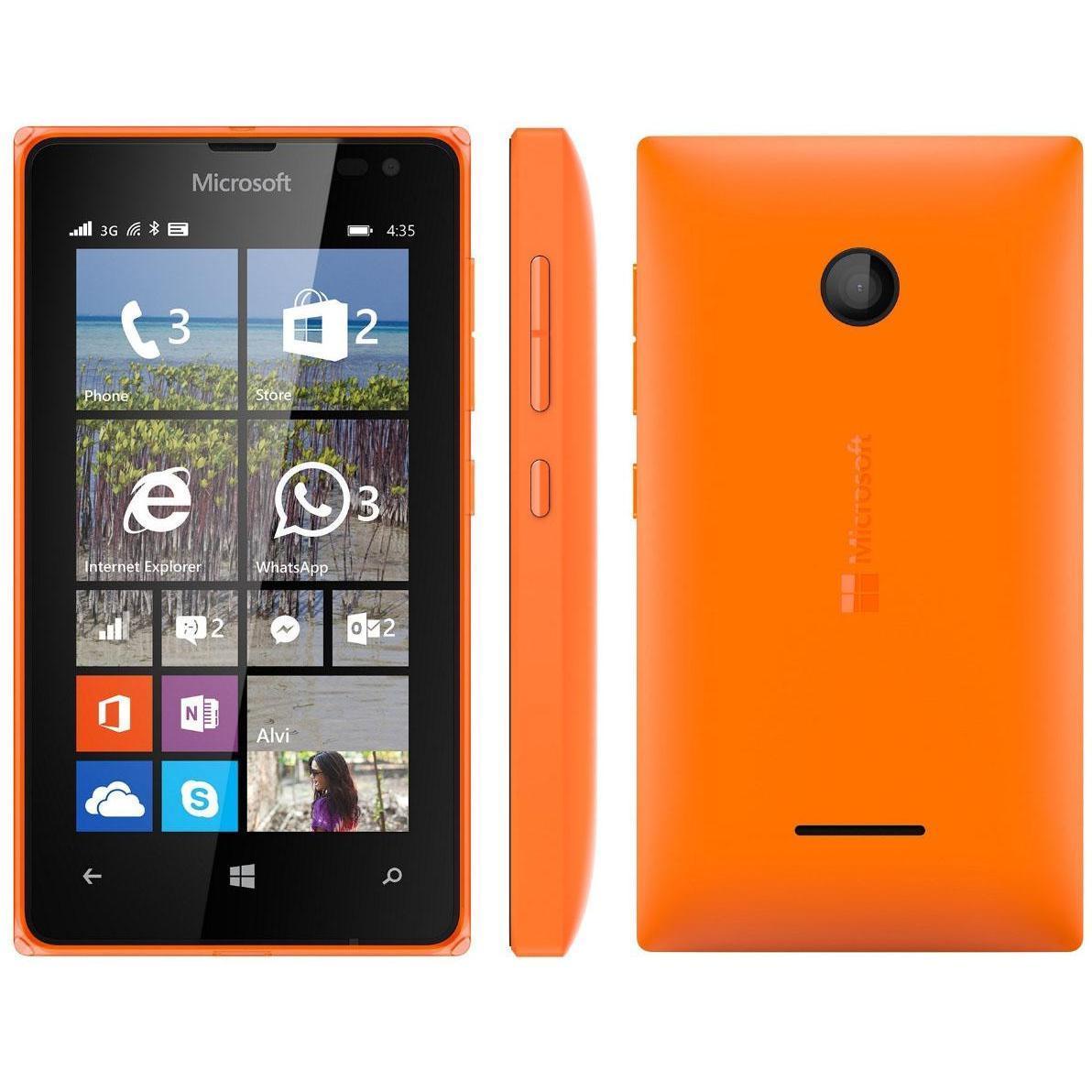 Microsoft Lumia 435 8 GB - Orange - Libre