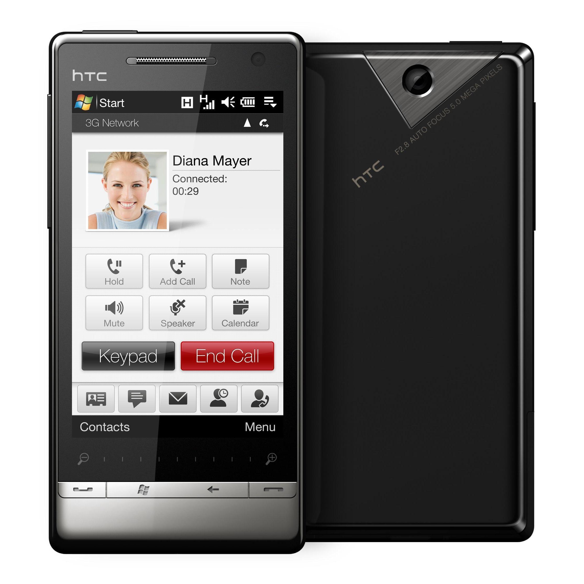 HTC Touch Diamond 2 0,5 Go - Noir - Débloqué