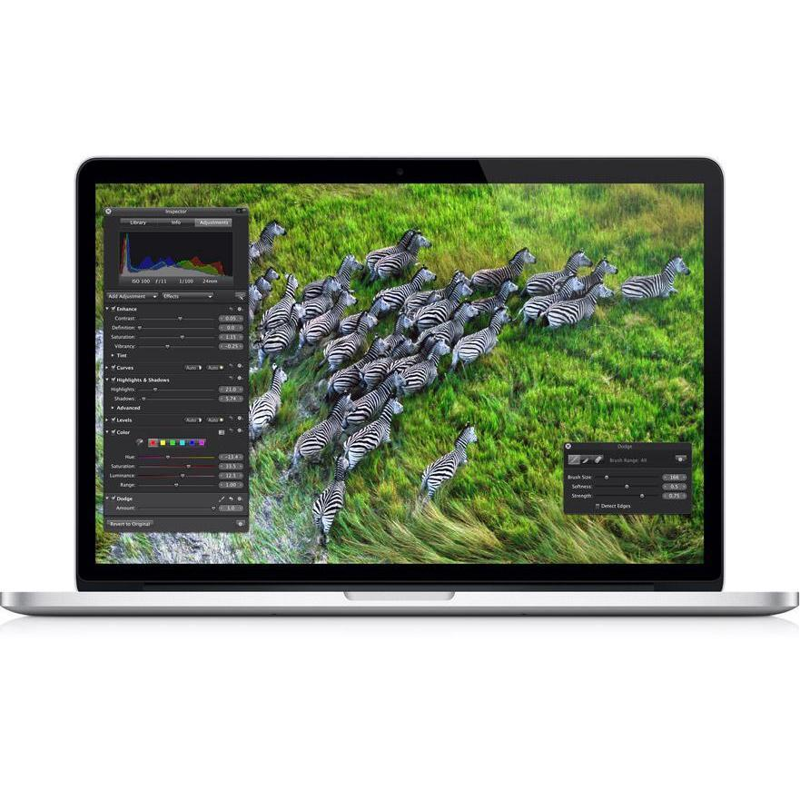 "MacBook Pro Retina 15"" Core i7 2,4 GHz - SDD 256 Go - RAM 8 Go - QWERTY"