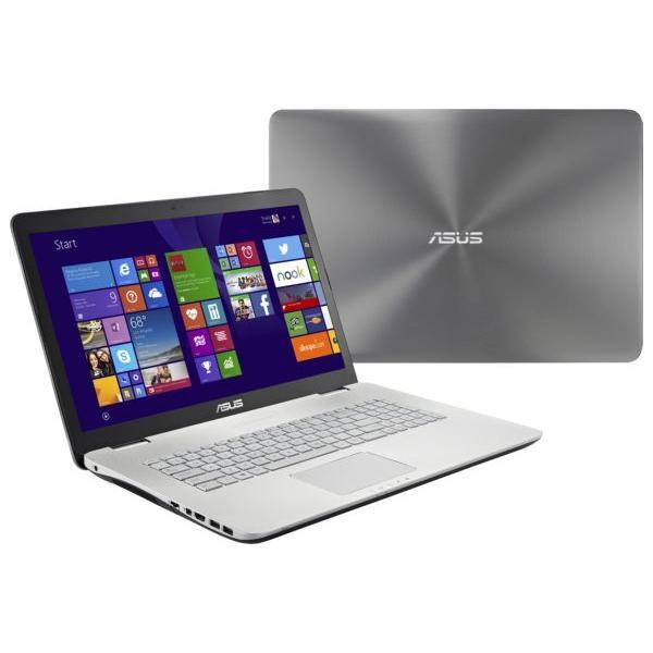 """Asus N751JK-T4125H 17,3"""" Core i7 2,5 GHz  - SSD 128 Go + HDD 1.024 To - RAM 16 Go- NVIDIA GeForce GTX850M"""