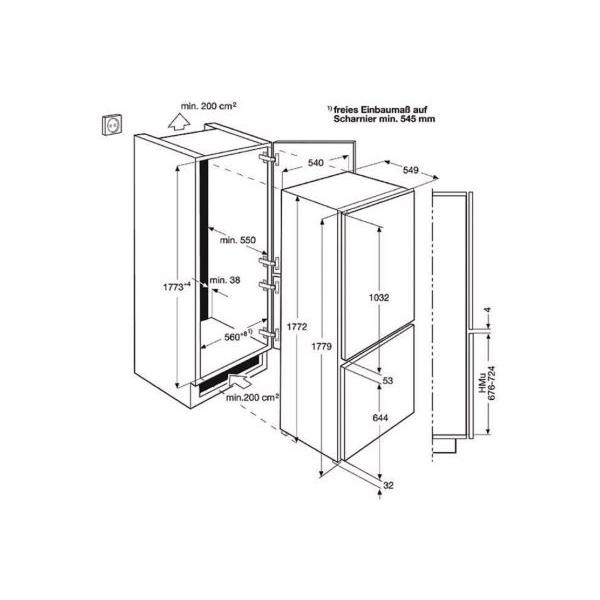 Réfrigérateur ELECTROLUX ENN12801AW