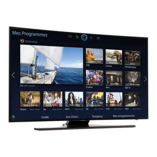Smart TV LED 3D Full HD 121 cm SAMSUNG UE48H6850 - incurvée