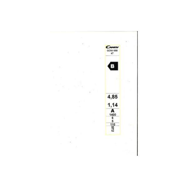 Lave-linge séchant CANDY GOW655