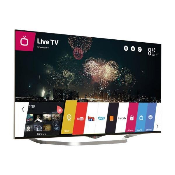 Smart TV LED 3D 4K Ultra HD 123 cm LG 49UB850V