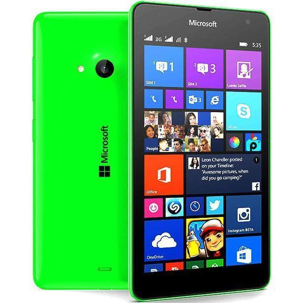 Microsoft Lumia 535 - 8 Go - Vert - Débloqué