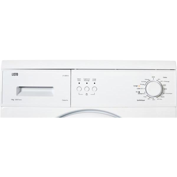 Lave linge frontal LISTO LF 1005-6
