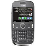 Nokia Asha 302 140 Mo - Gris - Débloqué