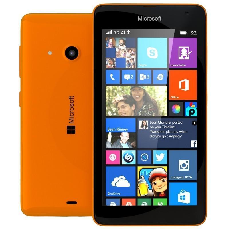 Nokia Lumia 535 8GB - Naranja - Libre