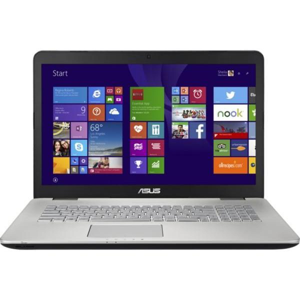 "ASUS N751JX-T4180H 17,3"" Core i7-4720HQ 2,6 GHz  - HDD 1.152 To - RAM 8 Go"
