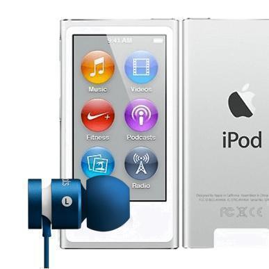 PACK iPod Nano - 16 Go - Argent + Urbeats 2 - Bleu