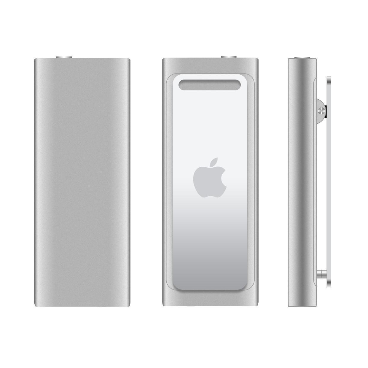 iPod Shuffle 3 - 4 Go - Argent