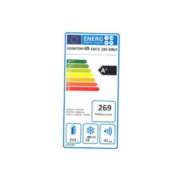 Réfrigérateur  ESSENTIEL B ERCV 185-60b4