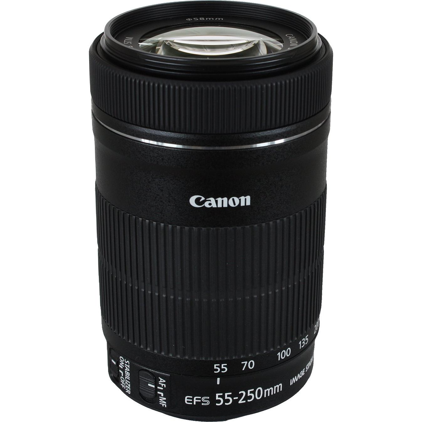 Objectif Canon EF-S 55-250mm 1:4-5.6 IS STM