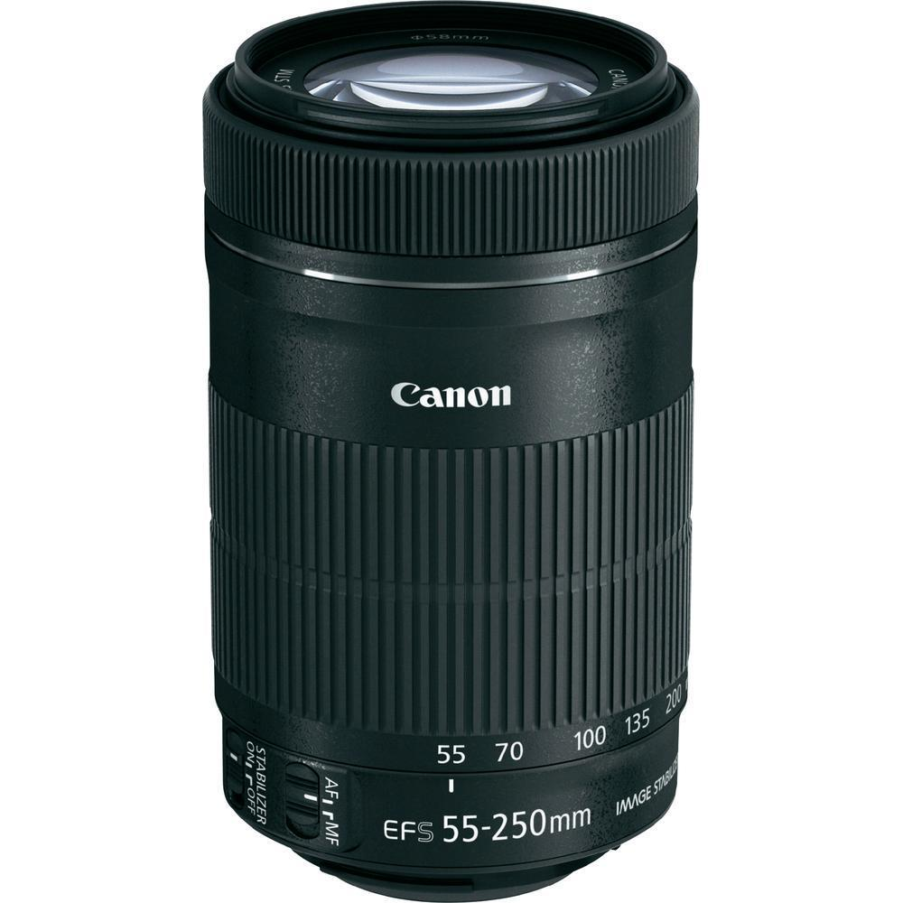 Objetivo Canon EF-S 55-250mm 1:4-5.6 IS STM