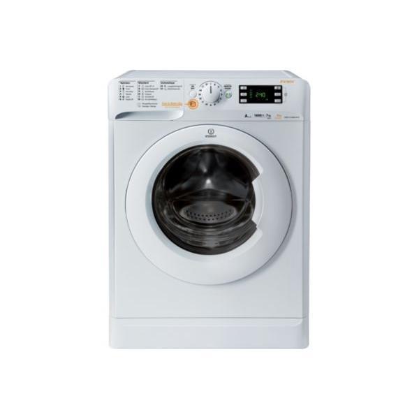 Lave-linge Séchant INDESIT EX-XWDE 751680X W FR