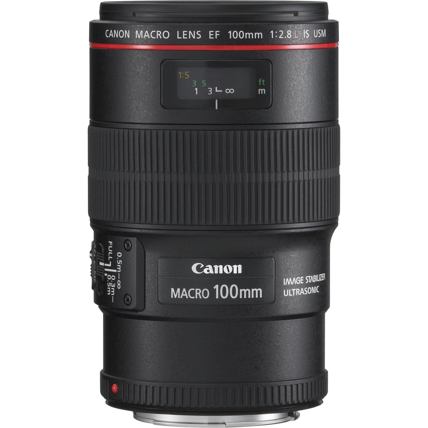 Canon Objektiv EF 100mm 1:2.8L IS USM Macro