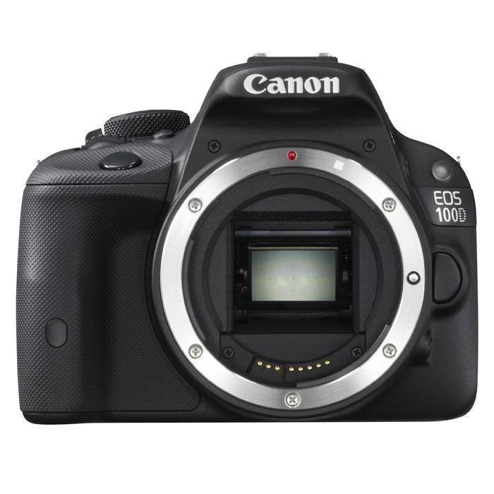 Reflex - Canon EOS 100D Nu - Noir