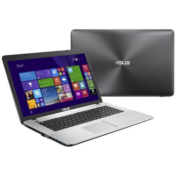 Asus R752LX-T4041H - Core i7-5500U 2,4 GHz - HDD + SSD 1088 Go - RAM 8 Go - AZERTY