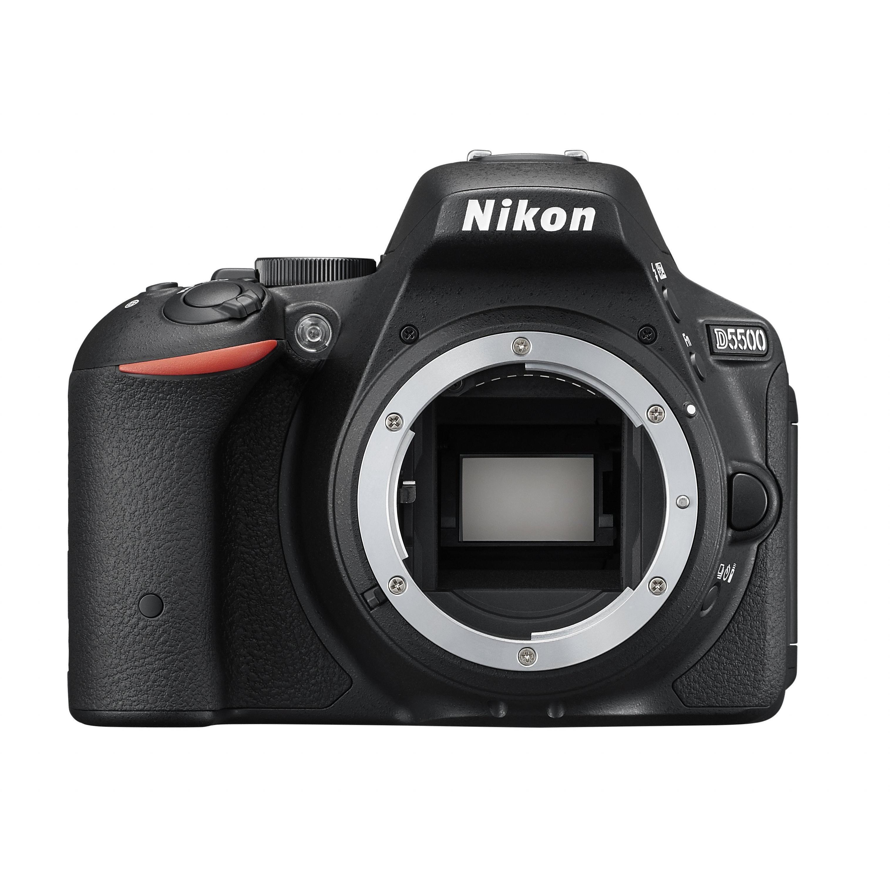 Nikon D5500 schwarz Gehäuse