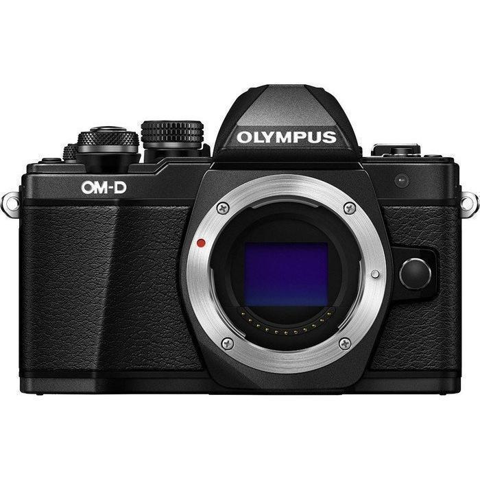 Hybride - Olympus OM-D E-M10 Mark II Boitier nu - Noir
