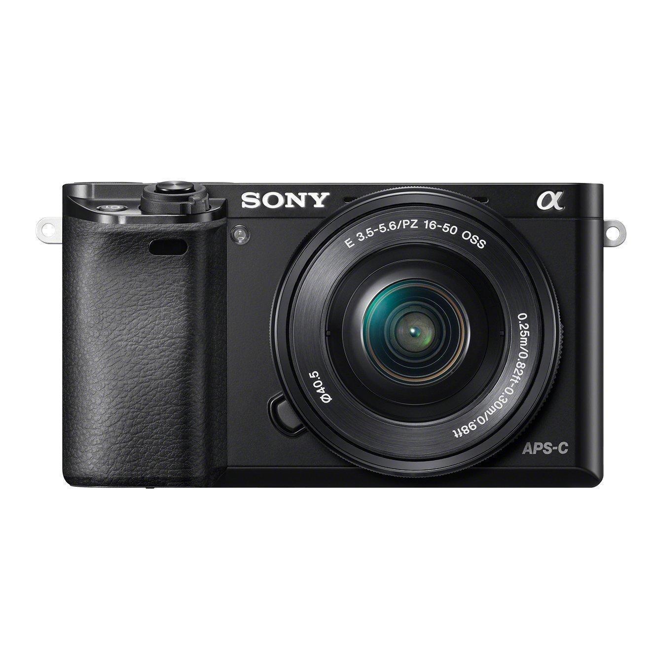 Sony Alpha 6000 schwarz Gehäuse (ILCE-6000B)