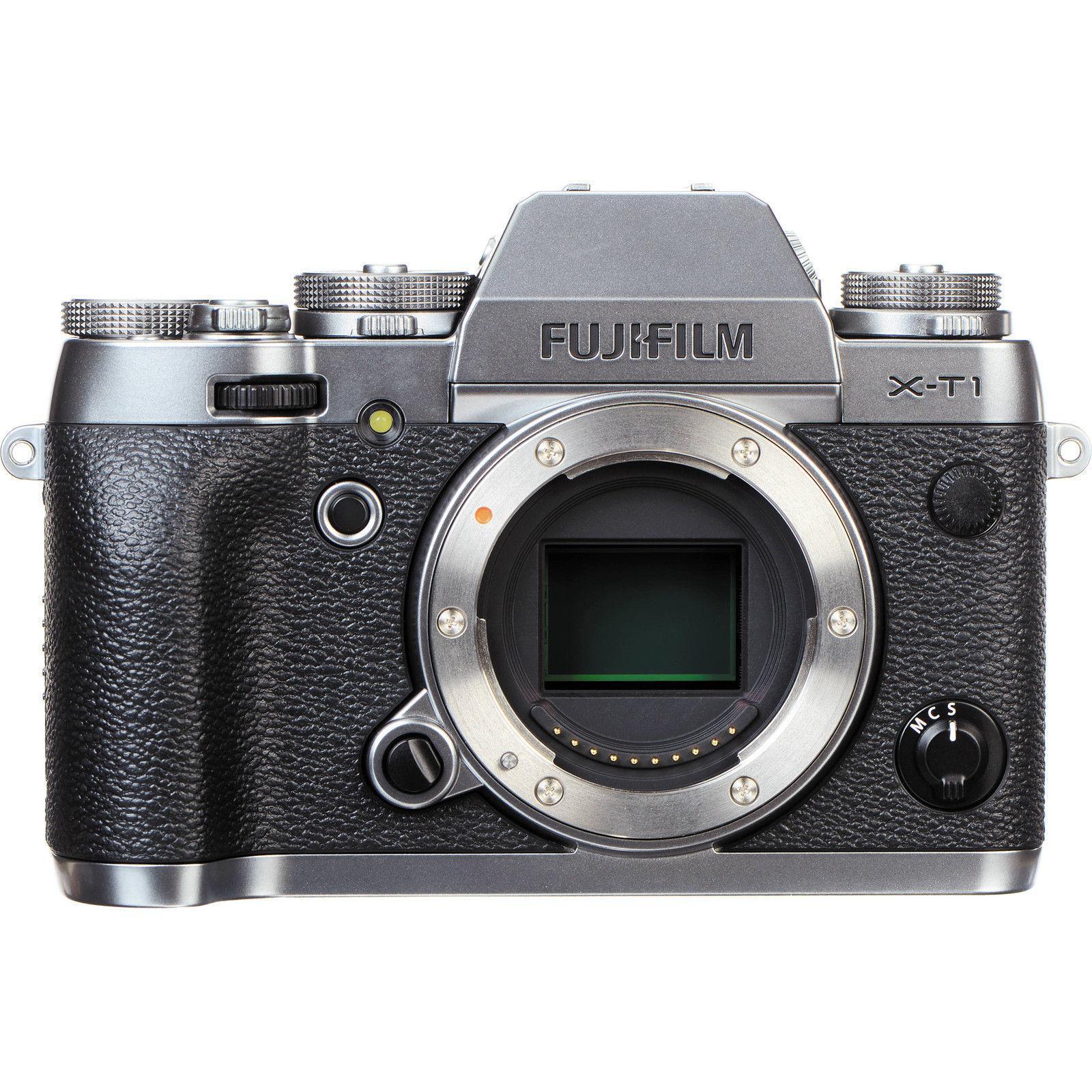 Fujifilm X-T10 silber Gehäuse
