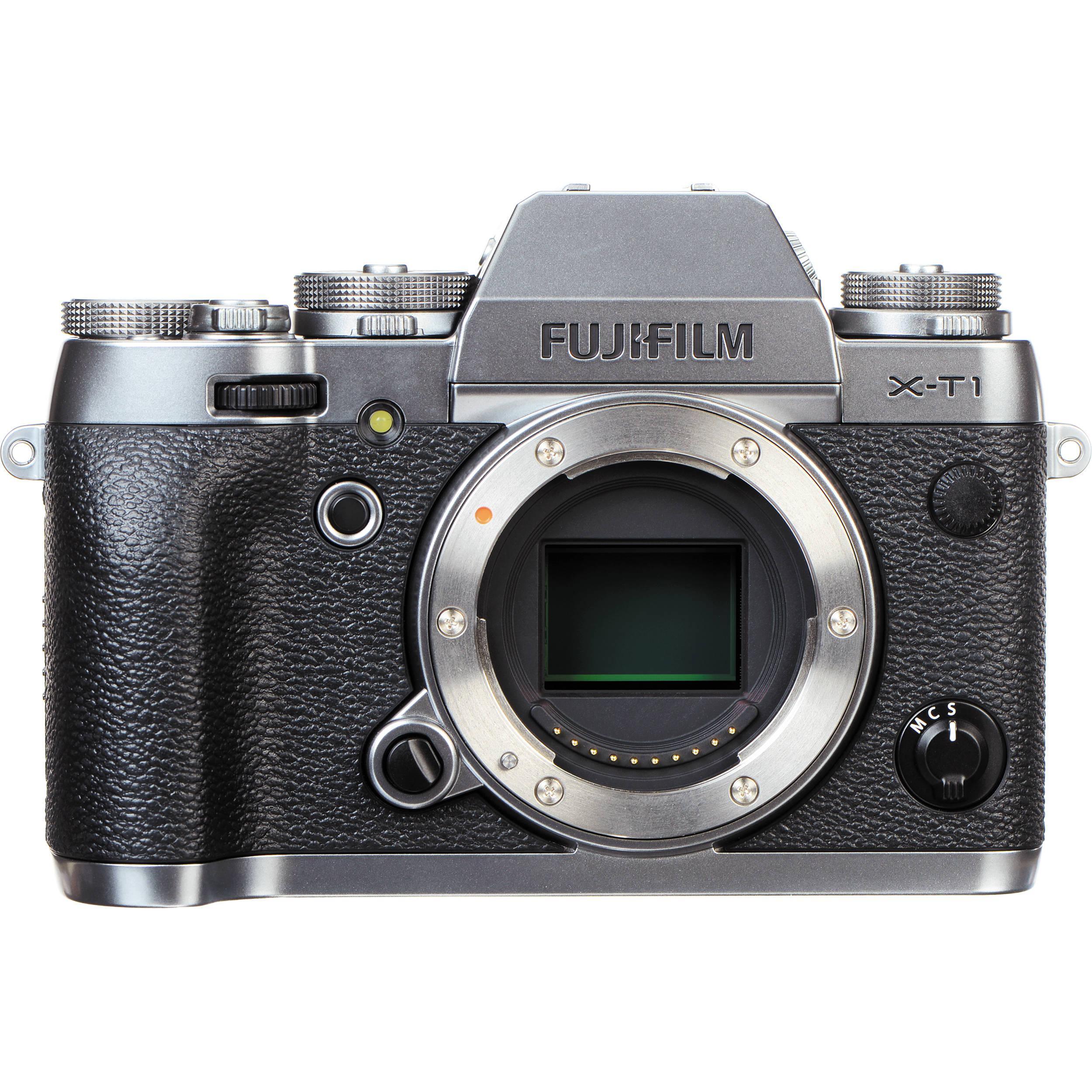 Híbrido - Fujifilm X-T1 Sin objetivo - Negro
