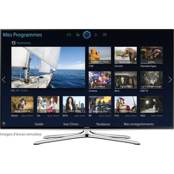 Smart TV LED 3D Full HD 121 cm SAMSUNG UE48H6200