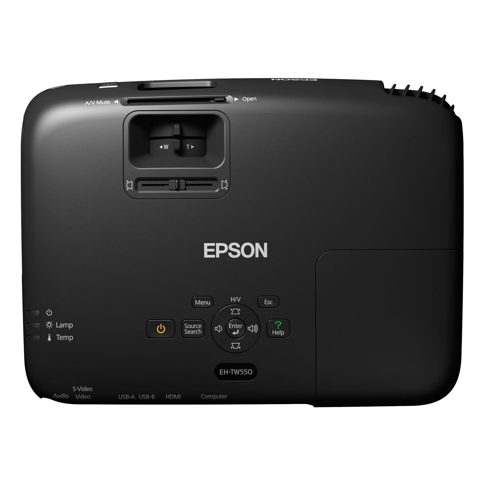 Videoprojecteur LCD 3D HD Epson EH-TW550