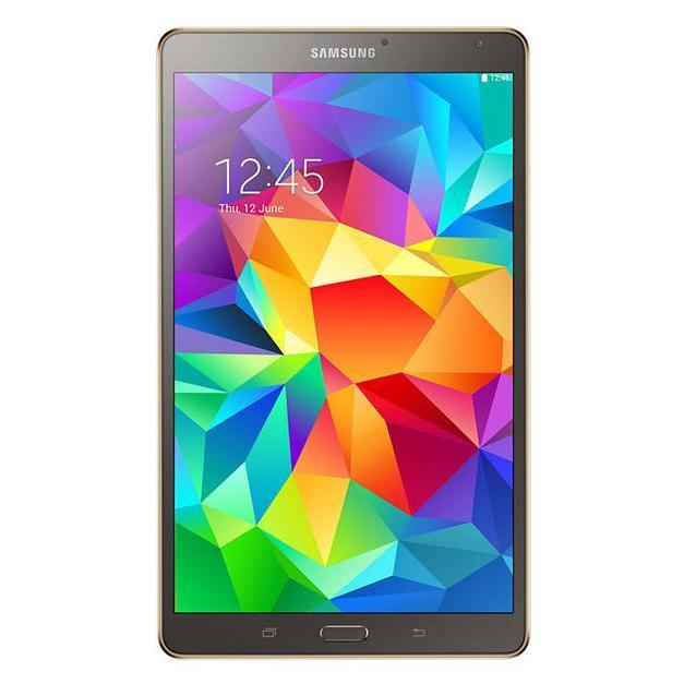 "Samsung Galaxy Tab S - 8,4"" 16 Go - Wifi - Bronze"