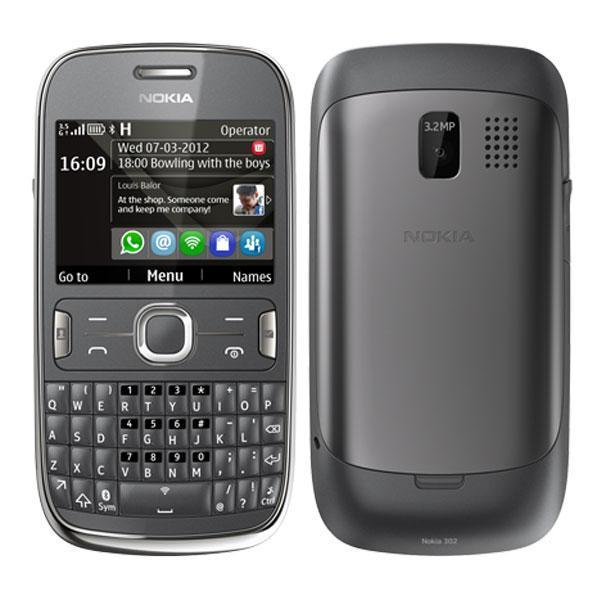 Nokia Asha 302 - Gris - Débloqué