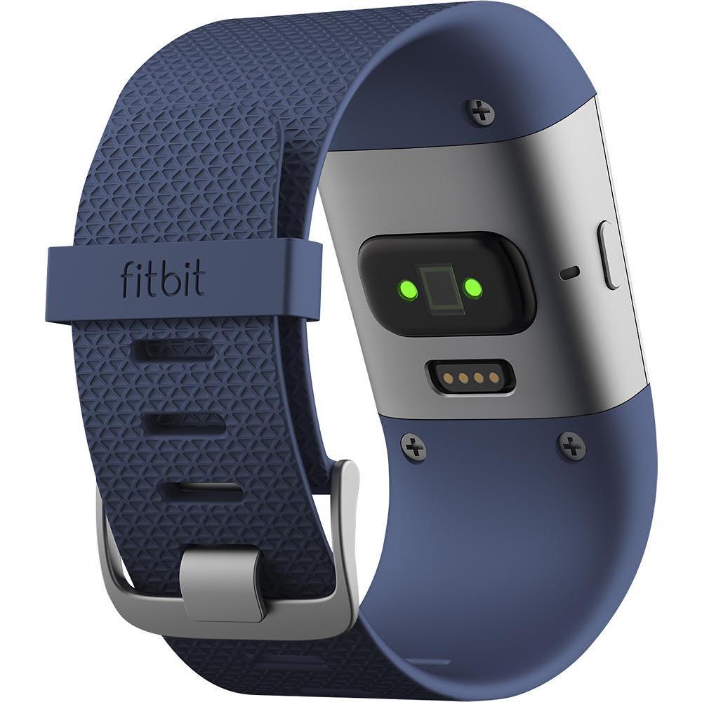 Montre cardio FitBit Surge - Taille L - Bleu