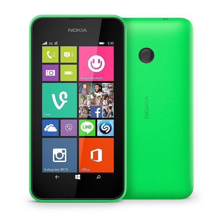 Nokia Lumia 530 4GB - Verde - Libre
