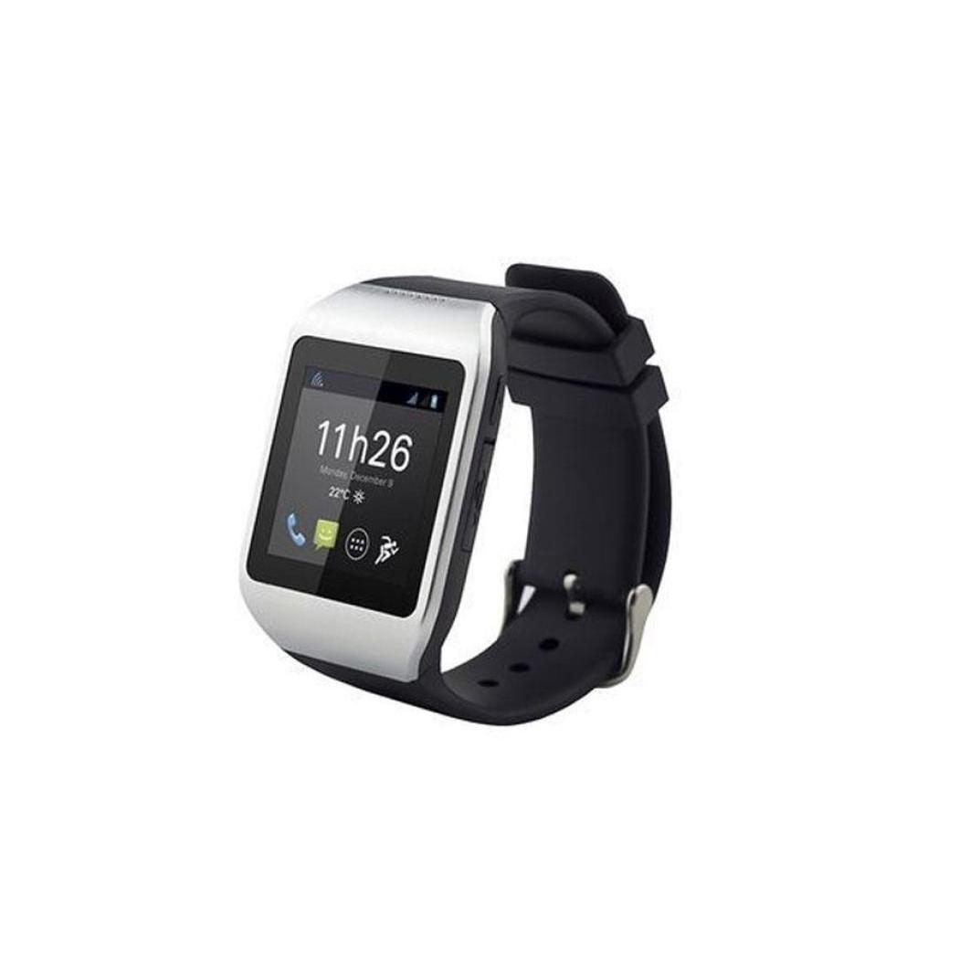 Polaroid Smartphone Topaz  4GB - Negro - Libre + Smartwatch Pwatch Negro