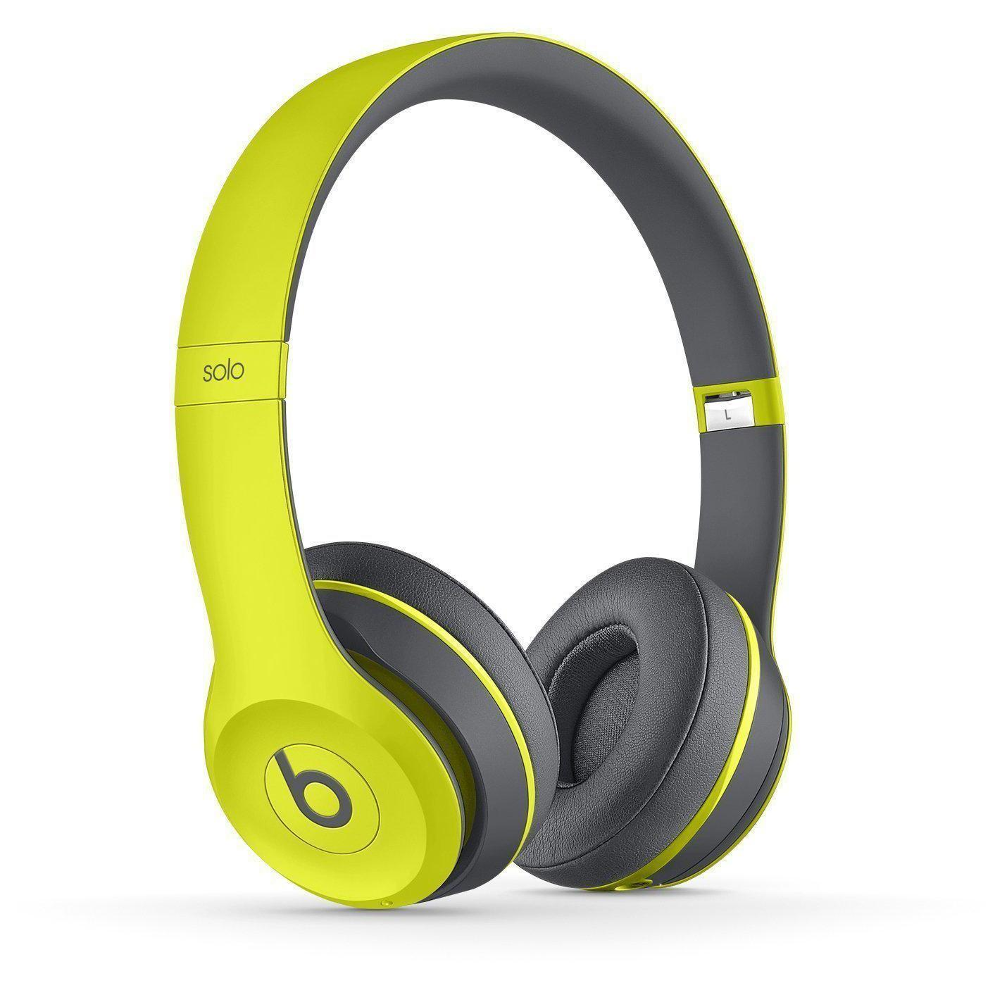 Casque Beats Solo 2 Active Wireless - Jaune
