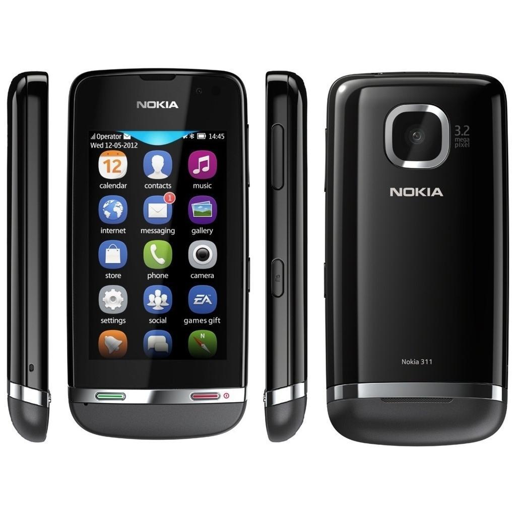 Nokia Asha 311 Negro