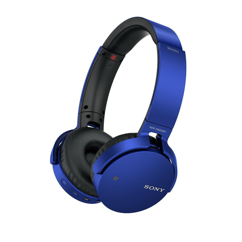 Auriculares Sony MDR-XB650BT/L Bluetooth + NFC - Azul