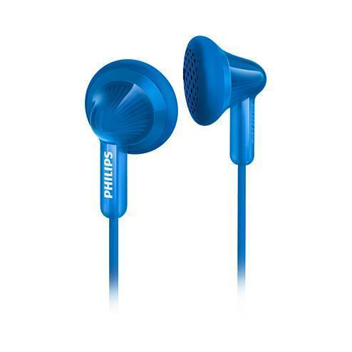 Mini écouteurs Philips SHE3010BL/00 - Bleu