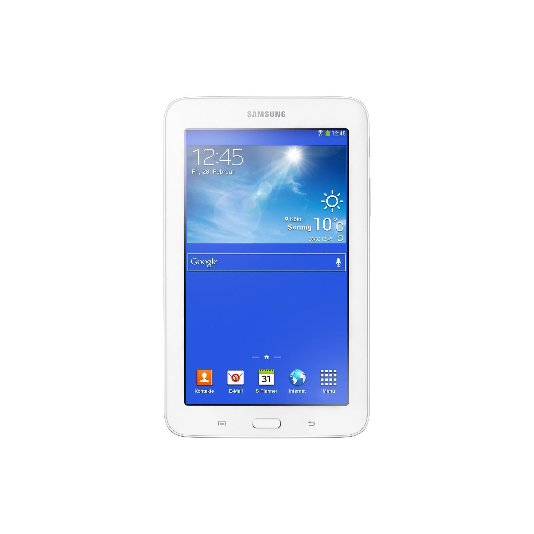 """Samsung Galaxy Tab 3 Lite 7"""" - 8 Go - Blanc"""