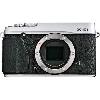 Hybride - Fujifilm X-E1 Boîtier nu - Argent