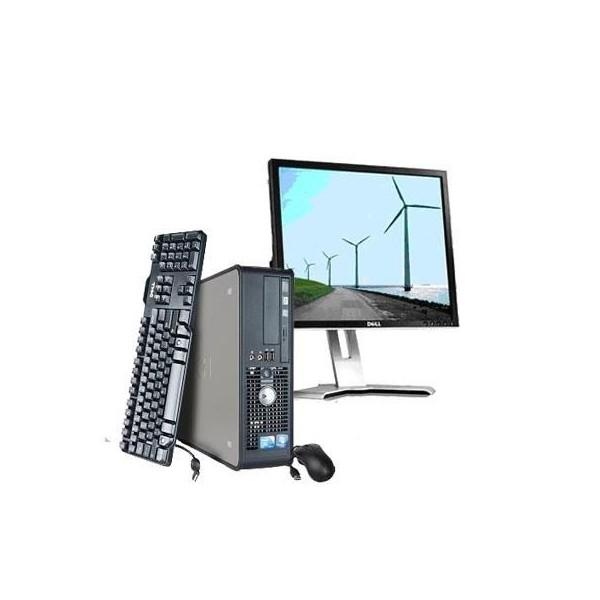 "Dell Optiplex 780 SFF 17"" Core 2 Duo 2,93 GHz  - HDD 160 Go - RAM 2 Go"